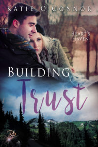 Cover of the book called Building Trust written by Katie O'Connor.