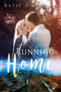 Cover of the book Running Home by Katie O'Connor.