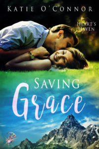 Cover of the book Saving Grace. Part of the Heart's Haven Series.