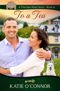 Cover picture of Katie O'Connor's novel entitled To a Tea.