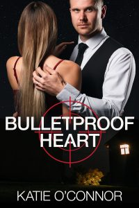 Cover of the book Bulletproof Heart by Katie O'Connor.