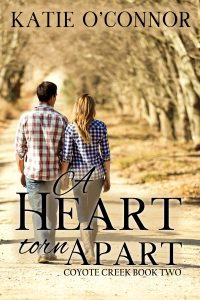 Cover of A Heart Torn Apart by Katie O'Connor